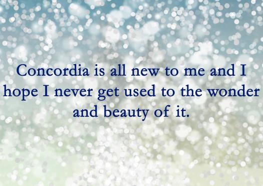 Concordia is New